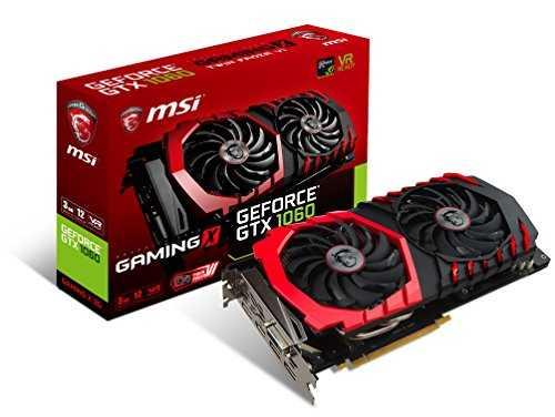 GeForce GTX 1060 GAMING X 3G